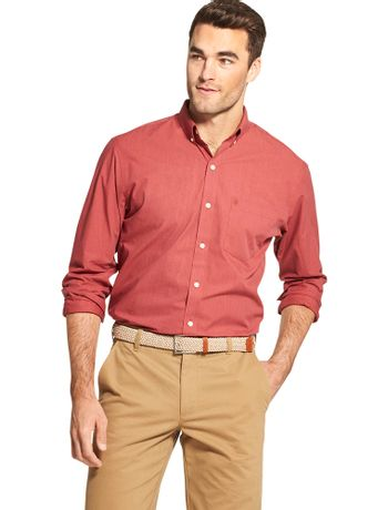 Camisa-Basica-Manga-Longa-Vermelho---Loja-Izod