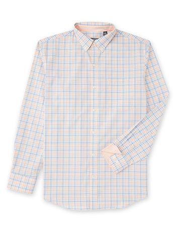 Camisa-Xadrez-Manga-Longa-Pessego---Loja-Izod