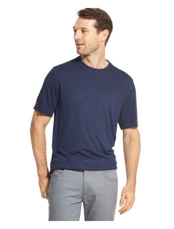 Camiseta-Manga-Curta-Constrastante-Masculina-Azul-Carbono