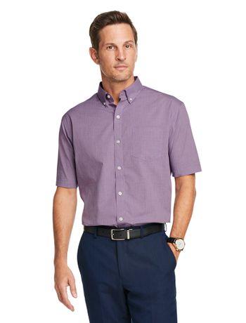 Camisa-Texturizada--Manga-Curta-Slim-Masculina-Uva