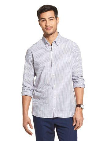 Camisa-Xadrez-Manga-Longa-Regular-Masculina-Branca