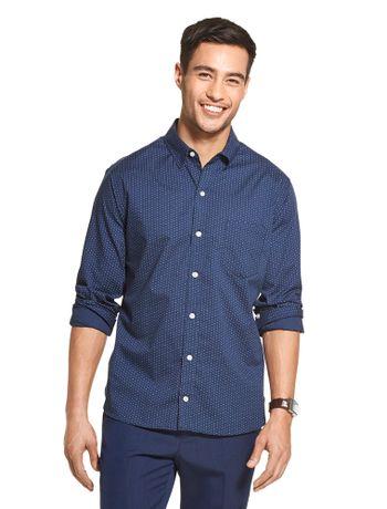 Camisa-Traveller-Estampada-Manga-Longa-Regular-Masculina-Azul