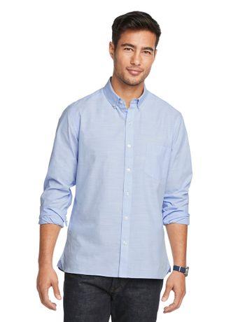 Camisa-Flame--Manga-Longa-Regular-Masculina-Azul