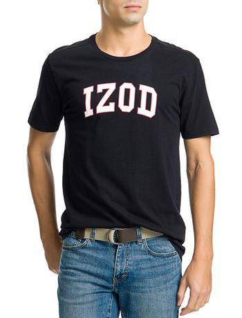 Camiseta-Estampada-College-Manga-Curta-Masculina-Preta