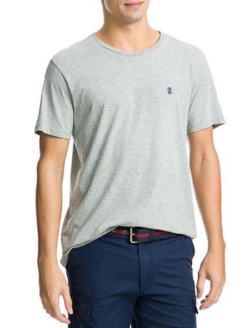 Camiseta-Basica-Manga-Curta-Masculina-Cinza-Mescla