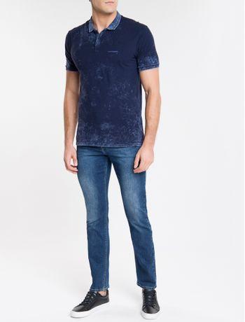Calca-Jeans-Masculina-Five-Pockets-Reta-Marinho-Calvin-Klein
