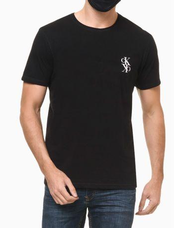 Camiseta-Ckj-Mc-Dupla-Face--Mirror---Preto---PP