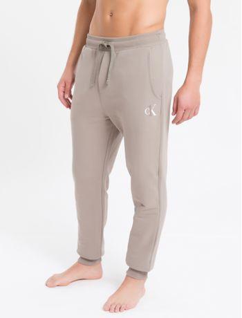 Calca-Masc-Moletom-Ck-One-Loungewear---Caqui---P