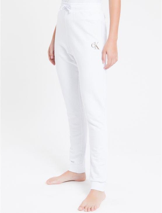 Calca-Fem-Piquetom-Ck-One-Loungewear---Branco---P