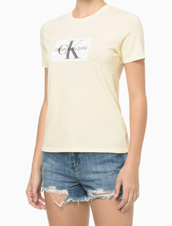 Blusa-Mc-Slim-Reat-Gc-Logo-Reissue---Amarelo-Claro---PP