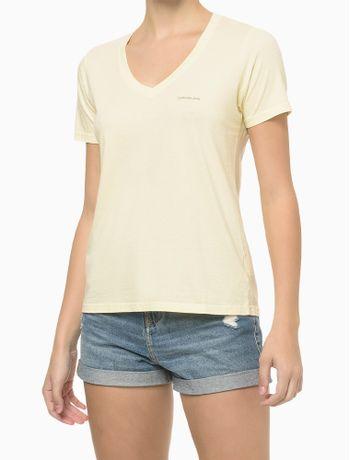 Blusa-Mc-Slim-Meia-Reat-Gv-Logo-Peito---Amarelo-Claro---PP