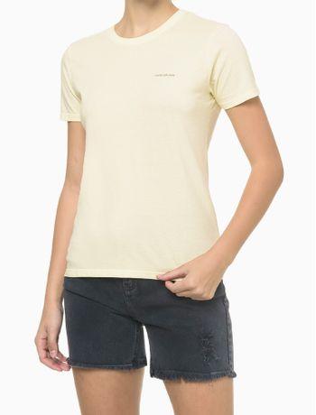 Blusa-Mc-Slim-Meia-Reat-Gc-Logo-Peito---Amarelo-Claro---P
