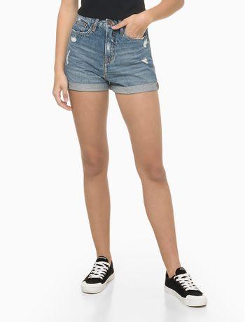 Bermuda-Jeans-Mom-Com-Puidos---Azul-Medio---40