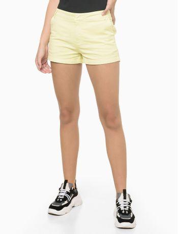Shorts-Justo-Alg-Basico-Tinturado---Amarelo-Claro---36