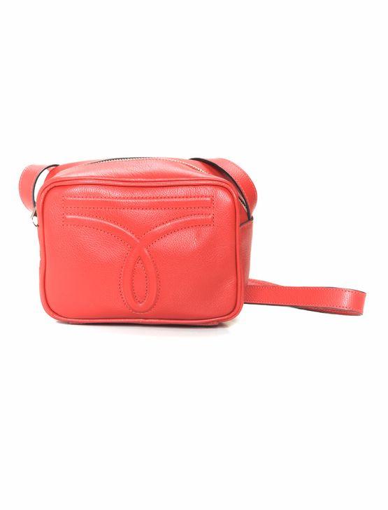 Bolsa-Pequena-Omega-Embossed---Vermelho---U
