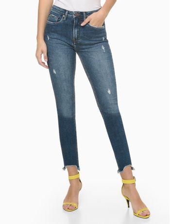 Calca-Jeans-High-Rise-Slim-Sustentavel---Azul-Medio---34