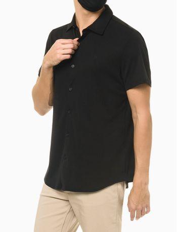 Camisa-Manga-Curta-Em-Liquid-Cotton---Preto---P