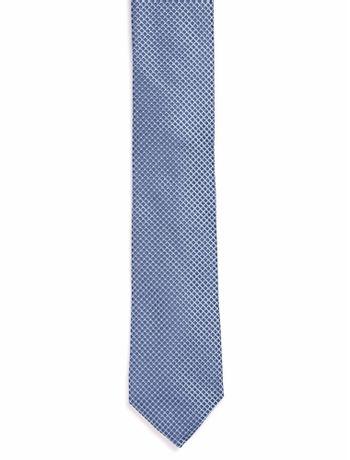 Gravata-Micropadrao---Azul-Medio---U