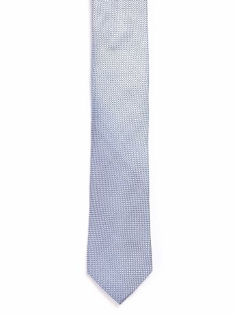 Gravata-Micro-Jacquard---Azul-Medio---U