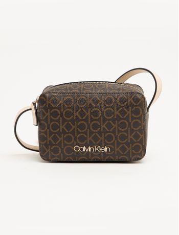 Bolsa-Pequena-Monograma-Calvin-Klein---Marrom---U