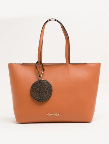 Bolsa-Shopping-Basica-Pingente-Mono-Ck---Caqui---U