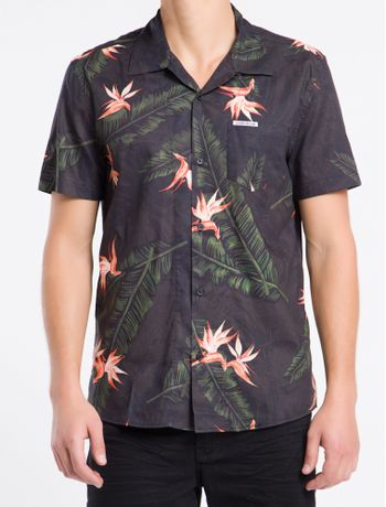 Camisa-Mc-Reg-Print-Havaia-Tropical---Preto---G