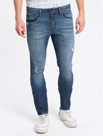 Calca-Jeans-Five-Pockets-Super-Skinny---Azul-Marinho---38