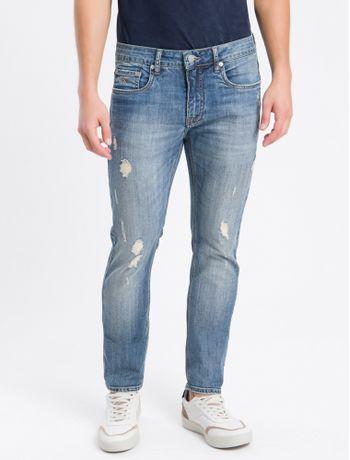 Calca-Jeans-Skinny-Barra-Dobrada---Azul-Marinho---36