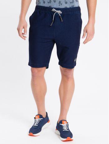 Bermuda-Jeans-Chino-Elastico---Azul-Marinho---36