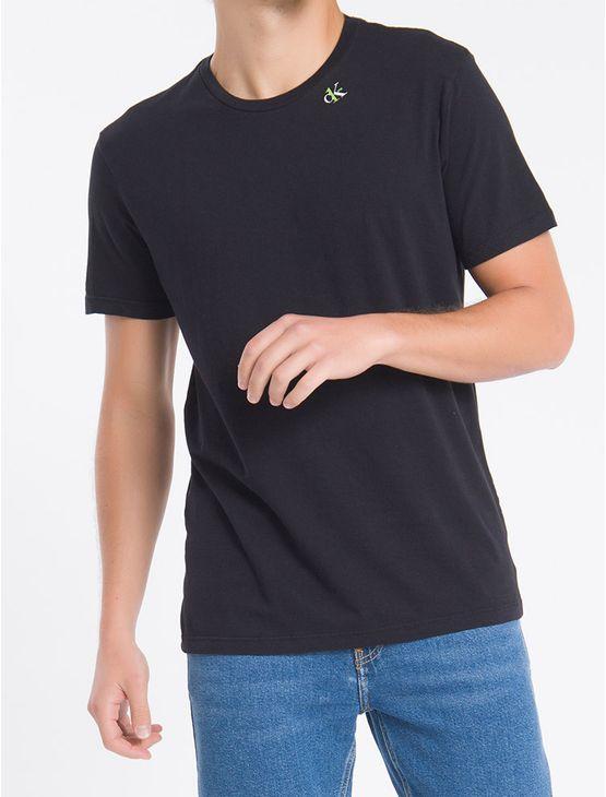 Camiseta-Mc-Regular-Ck1-Meia-Reat-Gc---Preto---PP