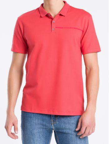 Polo-Mc-Regular-Logo-Piq-Rolo-Gola-Ret---Vermelho---P