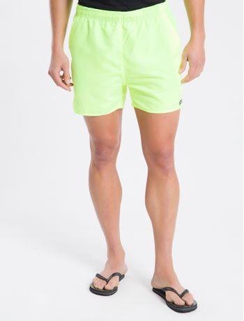 Shorts-Dagua-Regular-Liso-Micro-Basico---Amarelo---P