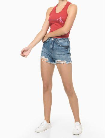 Blusa-Sm-Ana-Reat-Gc-Logo-Calvin-Ck---Vermelho---P