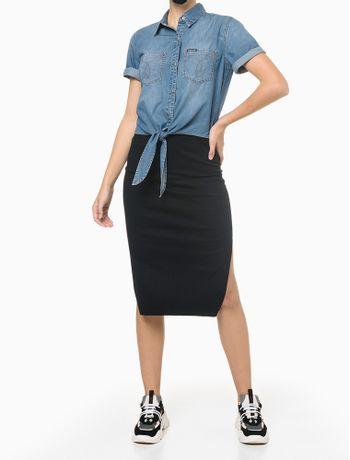 Camisa-Jeans-Manga-Curta-Amarracao---Azul-Medio---PP