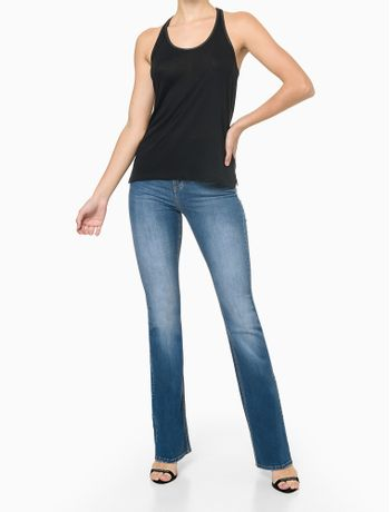 Calca-Jeans-Five-Pockets-High-Rise-Flare---Azul-Medio---34