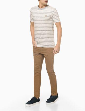 Camiseta-Mc-Slim-Listrado-Maquinetado---Nude---P