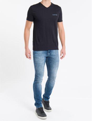 Calca-Jeans-Elastico-Personalizado-Cos---Azul-Marinho---36
