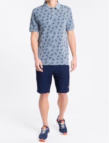 Bermuda-Jeans-Chino-Elastico---Azul-Marinho---40