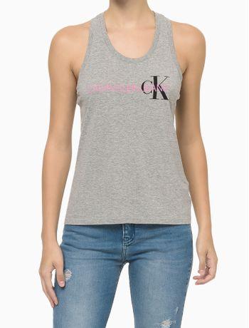 Blusa-Sm-Ana-Reat-Gc-Logo-Calvin-Ck---Cinza-Mescla---P
