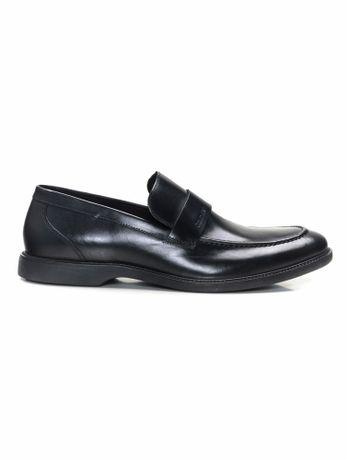Sapato-Social-Loafer-De-Couro---Preto---38