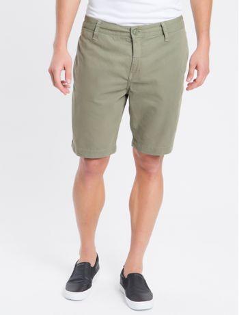 Bermuda-Color-Chino-Curta-Sarja-Reat---Verde-Militar---38