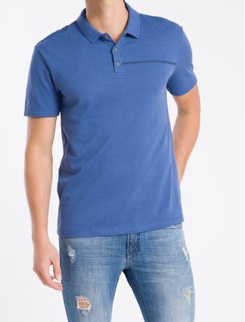 Polo-MC-Regular-Logo-Piq-Rolo-Gola-Ret---Azul-Medio---PP