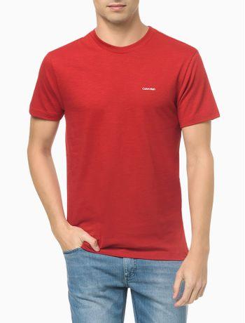 Camiseta-Slim-Flame-Calvin-Klein---Vermelho---PP