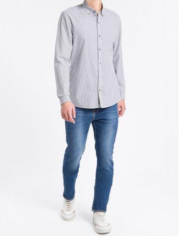 Camisa-ML-Reg-Listr-V-B-Down-Amac-Djuan---Preto---P