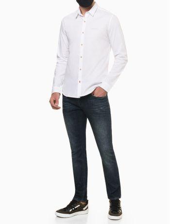 Camisa-ML-Reg-Liso-Sbols-N-D---Branco---P