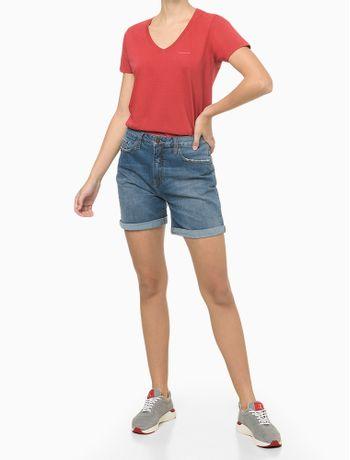 Blusa-MC-Slim-Meia-Reat-Gv-Logo-Peito---Vermelho---PP