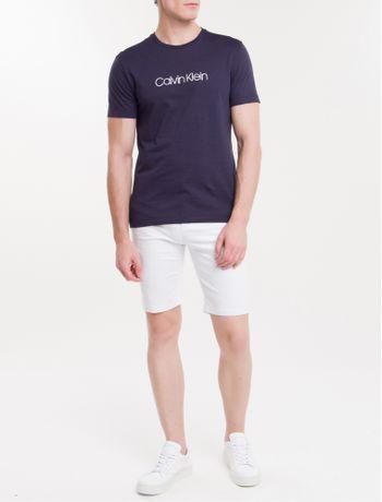 Camiseta-Slim-Basica-Flame-Calvin-Klein---Marinho---PP