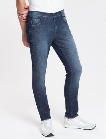 Calca-Jeans-Masculina-Skinny-Sculpted-Cintura-Baixa-Azul-Marinho-Calvin-Klein