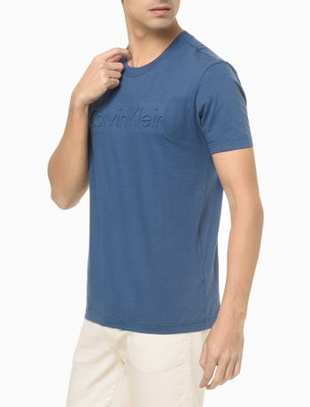 Camiseta-Mc-Slim-Institucional-Embossing---Azul-Medio