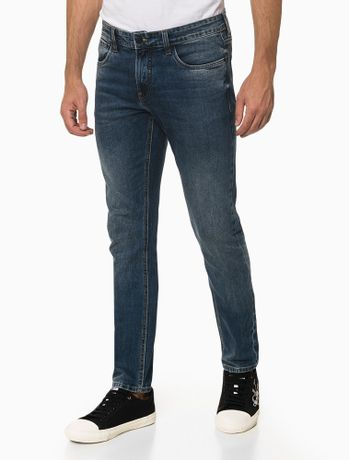 Calca-Jeans-Skinny-Barra-Dobrada---Azul-Medio